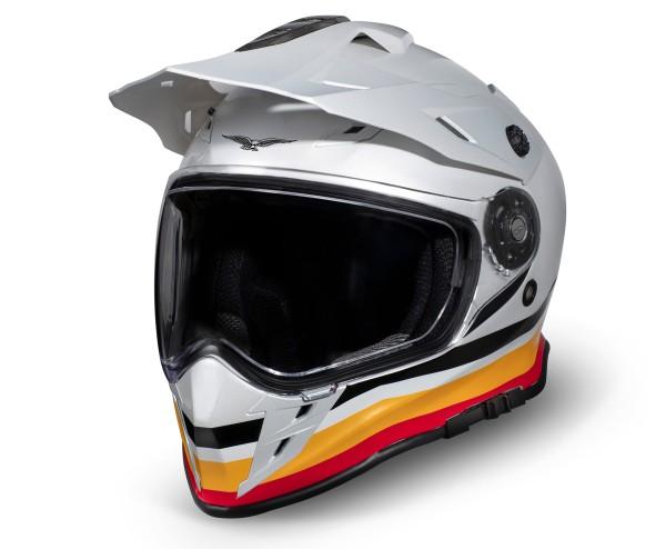 Moto Guzzi Adventure Touring Helm V85TT silber