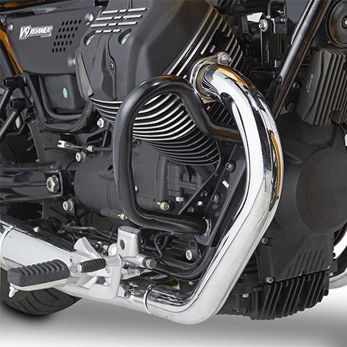 Sturzbügel schwarz für Moto Guzzi Original Givi