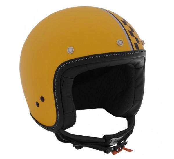Moto Guzzi Jethelm Dull Yellow Bobber