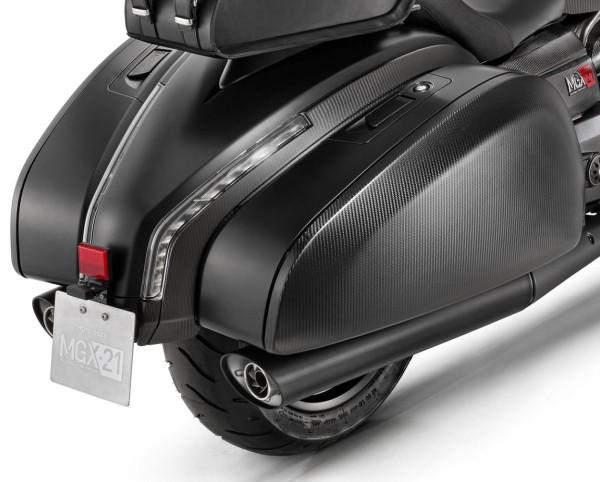 Original Auspuffanlage Slip-on für Moto Guzzi MGX 21