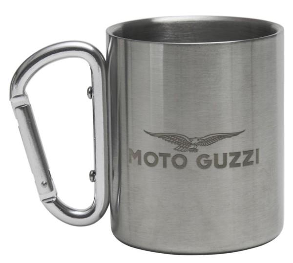 Moto Guzzi Tasse Edelstahl