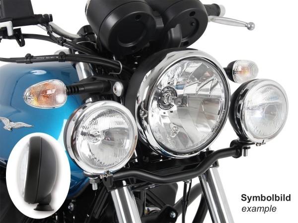 Twinlight Set Zusatzscheinwerfer schwarz für V 7 III stone/ special/ Anniversario/ Racer (Bj.17-)