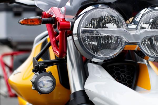 LED-Nebelscheinwerfer für Moto Guzzi V85 TT inkl. Installationskit