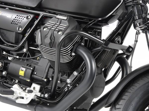 Motorschutzbügel schwarz für V 9 Bobber (Bj.16-) / Bobber Sport (Bj.19-) Original Hepco & Becker