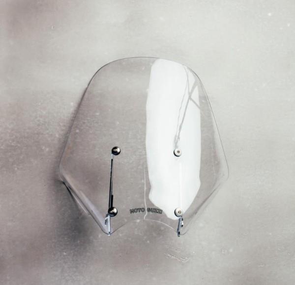 Touring Windschutzscheibe komplett, für Moto Guzzi V9 Roamer/ V9 Bobber