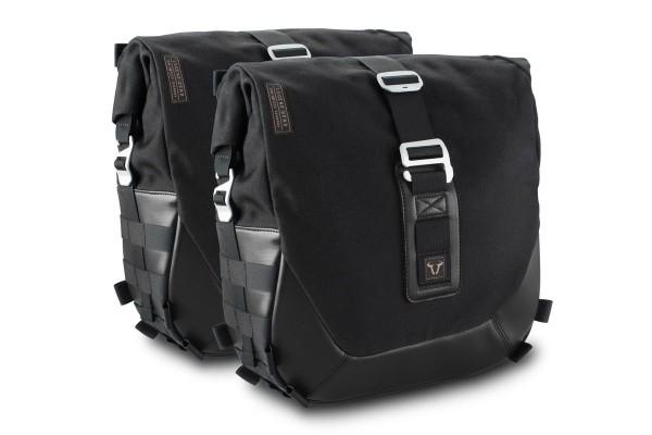Legend Gear Seitentaschen-System LC Black Edition für Moto Guzzi V7 III SW Motech