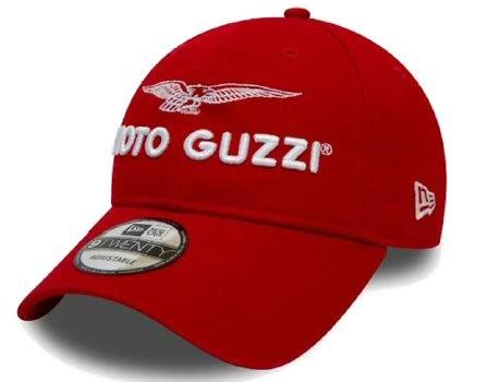 Moto Guzzi Base Cap Garage rot