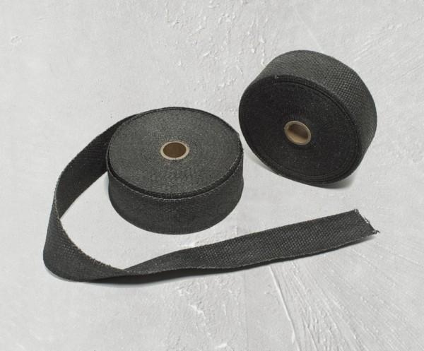 Hitzeschutzband, schwarz für Moto Guzzi V9 Bobber/ Roamer MGX 21