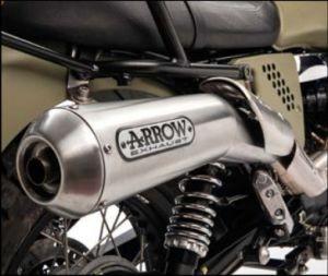 Original Endschalldämpfer, Arrow für Moto Guzzi V7 I+II