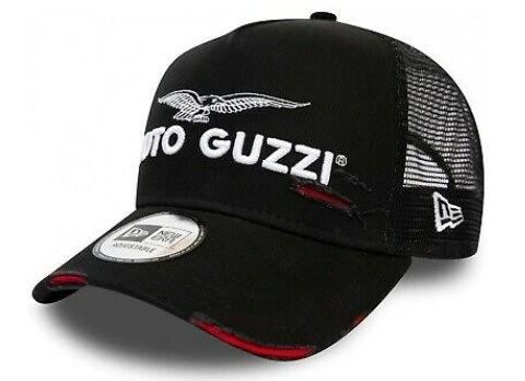 Moto Guzzi Base Cap Trucker schwarz