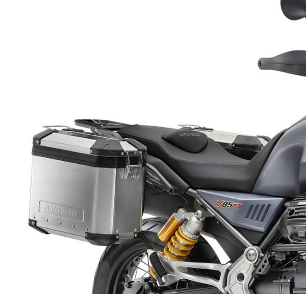 Original Aluminium Koffersatz Moto Guzzi V85 TT