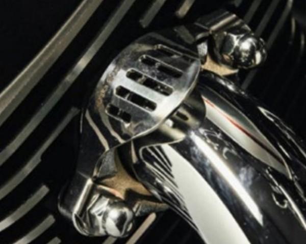Zierblenden-Set für Krümmer für Moto Guzzi V7 III