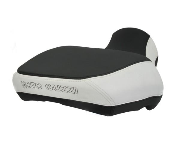 Moto Guzzi California Sitzbank Komfort , schwarz / weiss