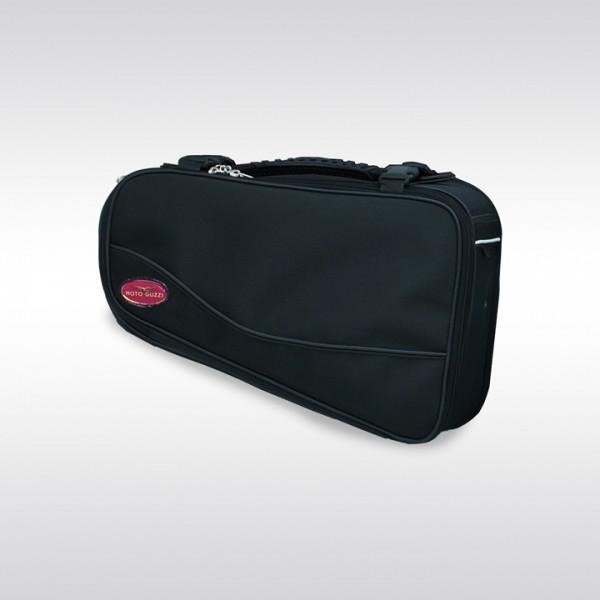 Original Seitentasche, schwarz für Moto Guzzi V7 I+II